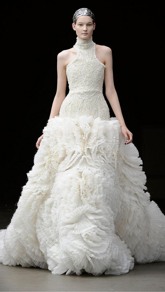 Reub envision kate 39 s dress should be for Julian alexander wedding dresses