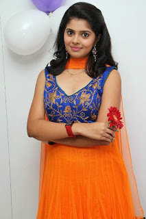 Actress Sravya Pictures in Salwar Kameez at Homeo Trends Clinic Launch  0013