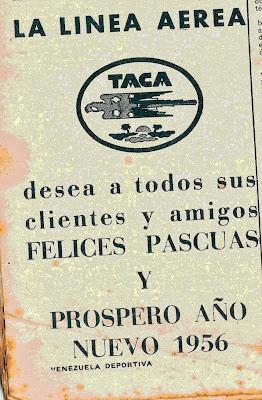 publicidad antigua taca