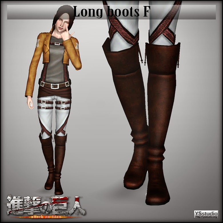 My Sims 3 Blog New Outfit And Boots For Females By Ysstudio