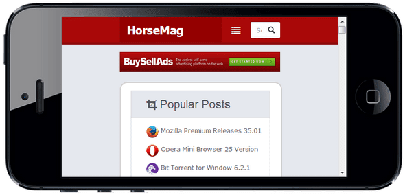 HorseMag Blogger Template