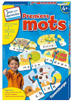 Jeu puzzle Premiers mots