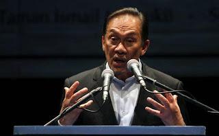Mantan Deputi Perdana Menteri Malaysia Anwar Ibrahim