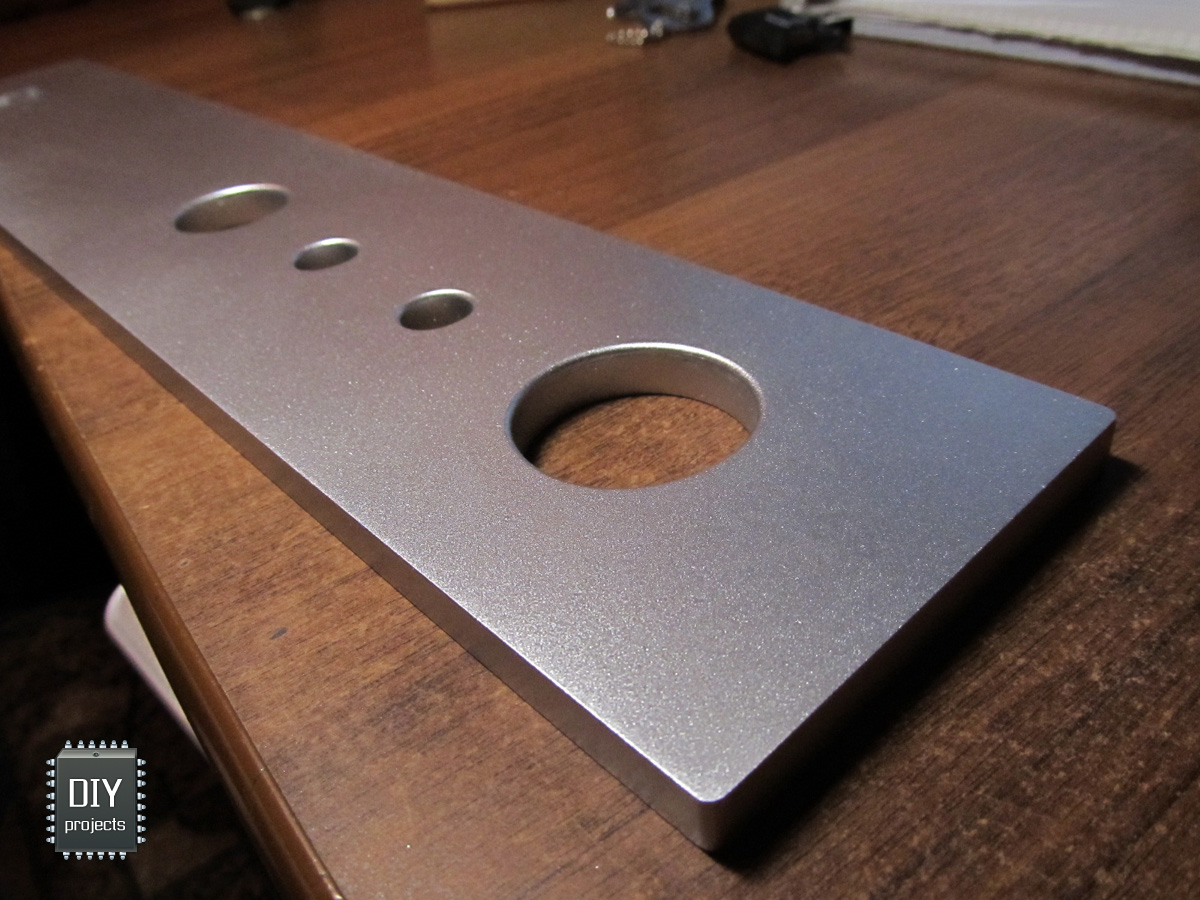 Как сделать алюминиевую панель