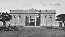 Cementerio en 1905