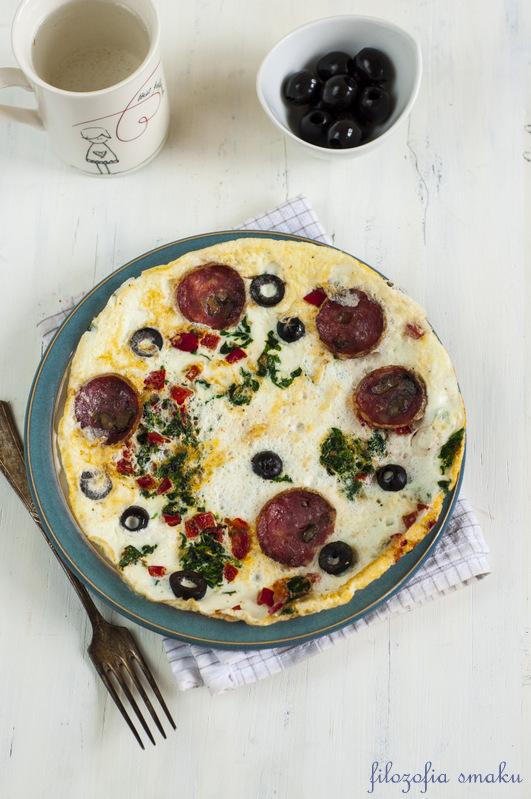 Omlet z białek
