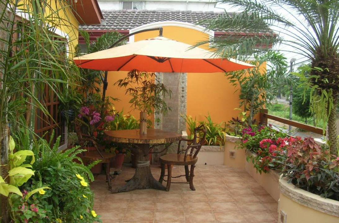 Revista crear ambientes jardines for Plantas de balcon para todo el ano