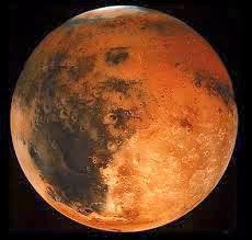 Planet Marikh Ada Gunung Berapi Gergasi