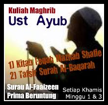 Ust Ayub - K/Maghrib, Khamis Minggu 1 & 3