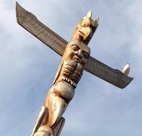 Totem Pole by Richard Becker