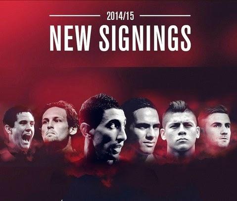 pemain baru united 2014