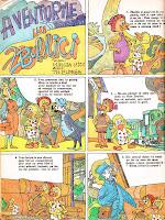 desene bd benzi desenate aventurile lui zburlici mircea micu theodora florea almanahul copiilor comics romania