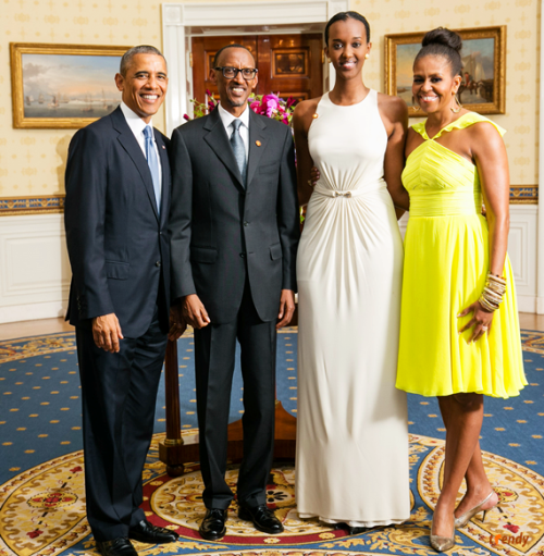rwanda president giant daughter son