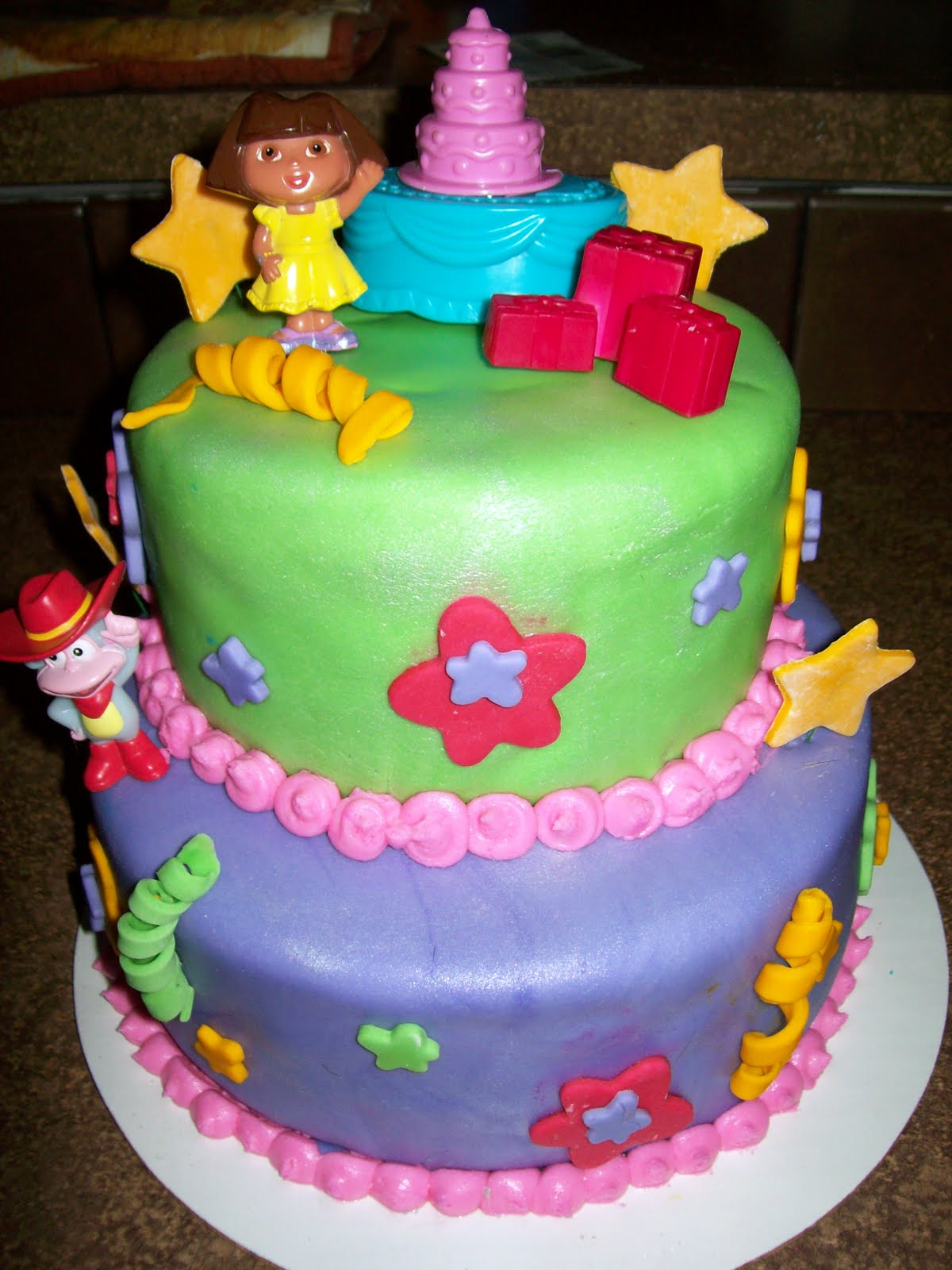 Cake Designs Dora The Explorer : Cakes By Design: Dora, Dora, Dora, the Explorer