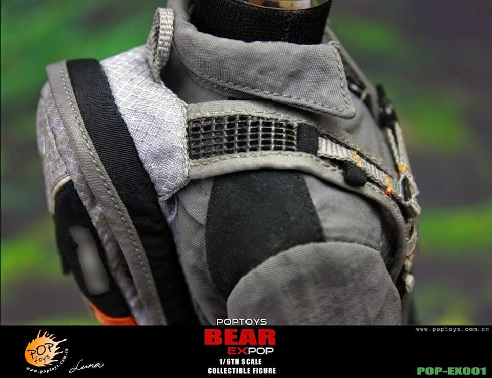 [POPTOYS] (Bear Grylls) 1/6 EX001 Wildness Survivor. Pop21