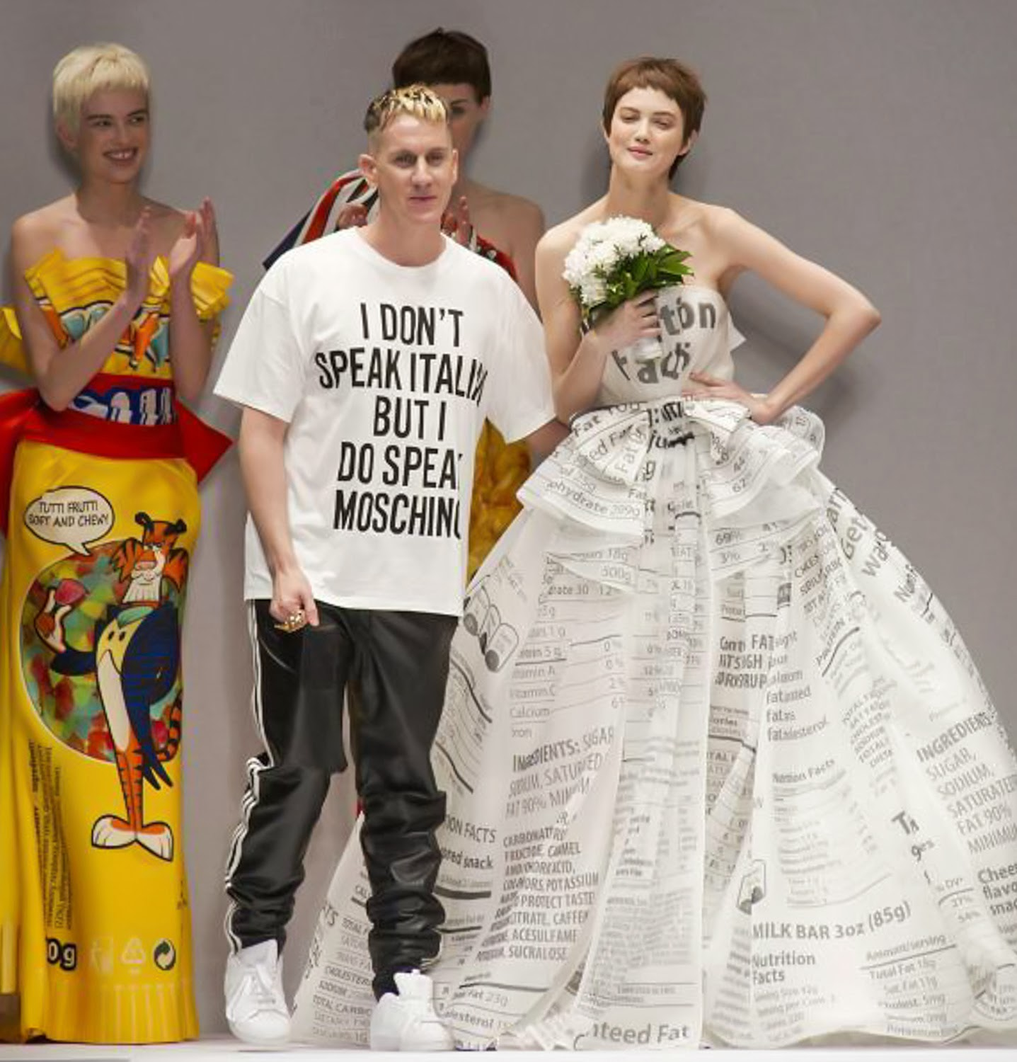 Jeremy Scott Moschino Autumn Fall Winter 2014