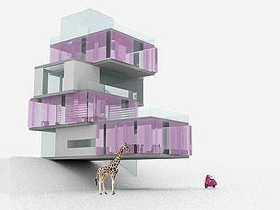 Arscity la casa dei sogni eco friendly di barbie for Progetti di casa dei sogni