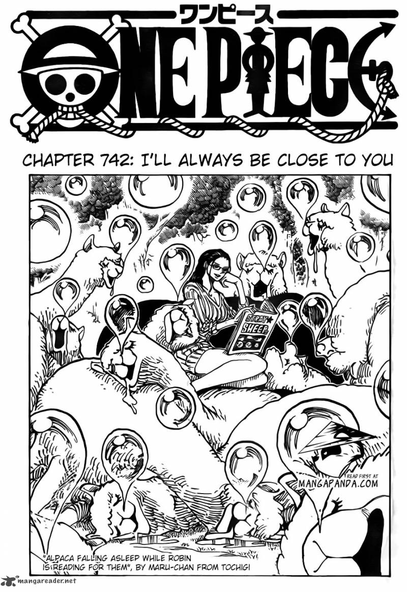 One Piece - Chapter 744