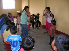EBDV: Hna. Marlene niños de 6 a 10 años