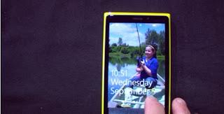 Nokia Lumia 920 hand on