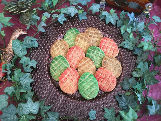 how to make dragon egg cookies