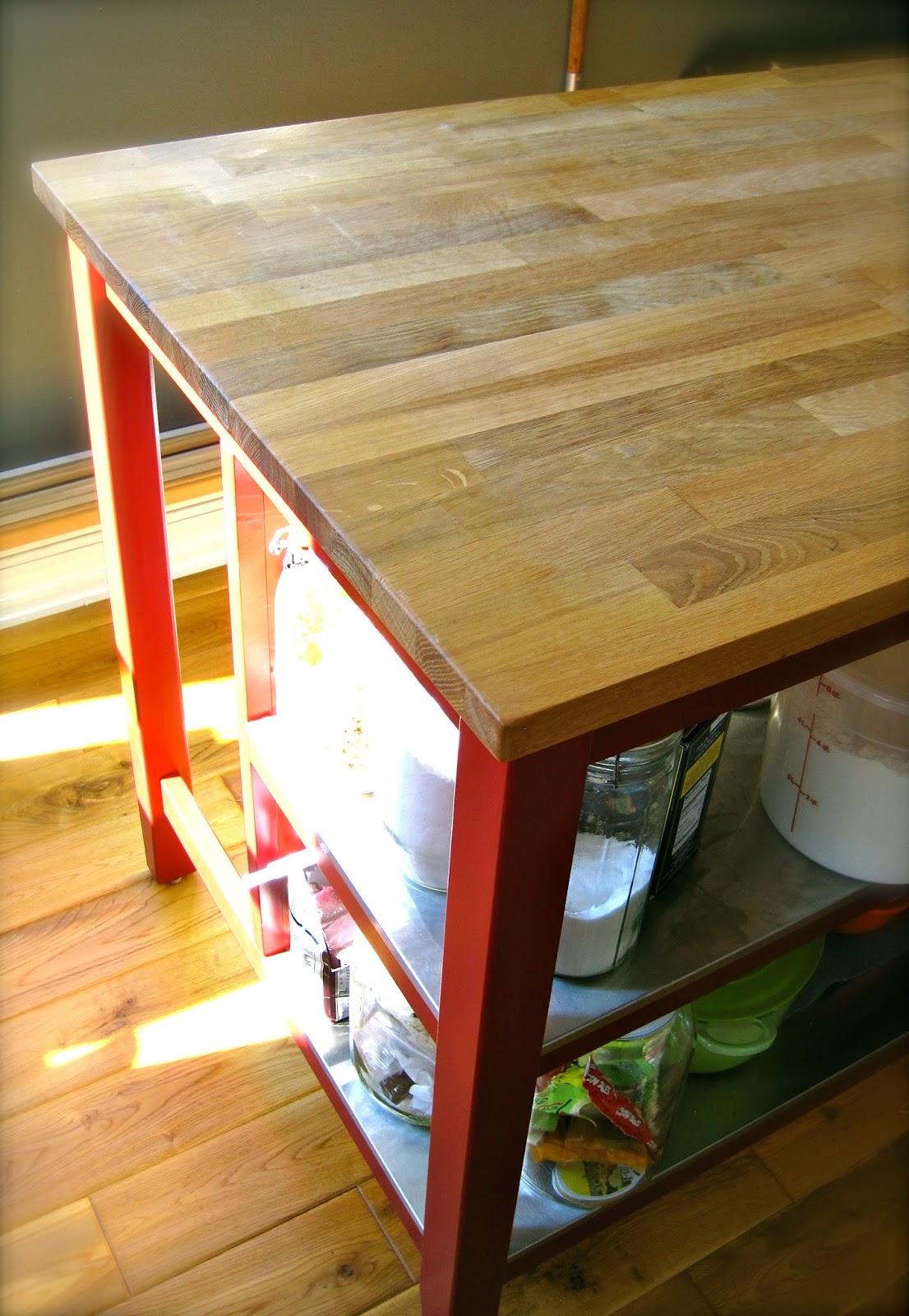 Minimalist ikea butcher block countertops