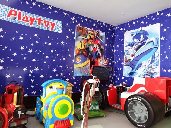 Playtoy Park leva diversão para criançada no Pátio Alcântara