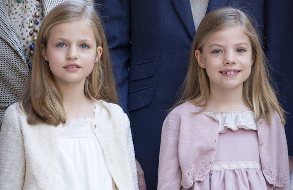 Princess Leonor of Spain and Princess Sofia of Spain