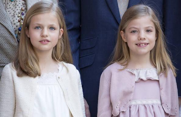 Princess Leonor of Spain and Princess Sofia of Spain