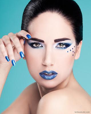 Realizado por maquillador profesional Manuel Andrade, Fotografía de Sergio Lardiez.