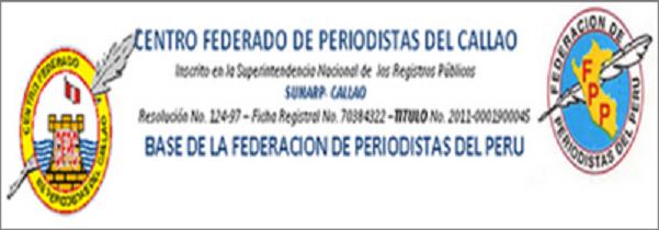 CENTRO FEDERADO DE PERIODISTAS DEL CALLAO