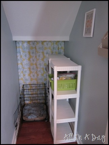 How to organize an under the stairs closet omf to the - Under stairs closet ideas ...