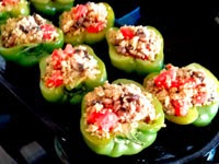 Stuffed Bell Peppers and Turkey Recipe