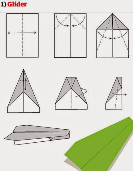 12 Ways To Fold A Paper Plane