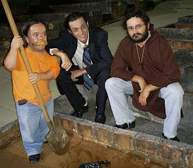 Com Claudinho Castro e Filúvio Gardel