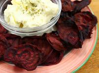 Chips de Beterraba (vegana)
