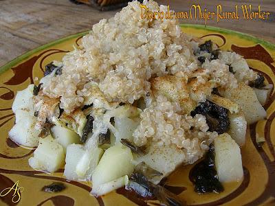 Quinoa con patatas