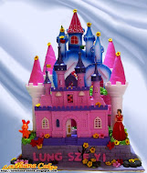 Castle and Princess Cake