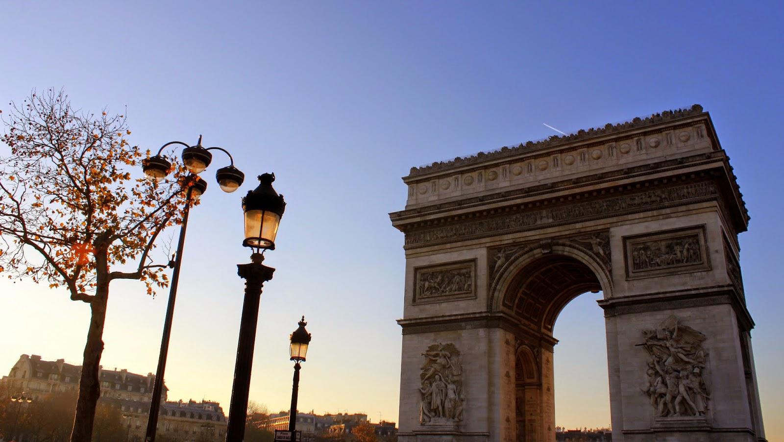 Arc de triomphe París