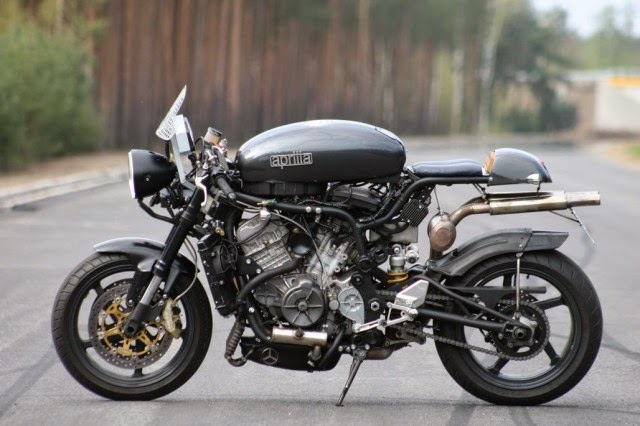 Aprilia Rsv Mille Cafe on honda cb750 custom cafe racer