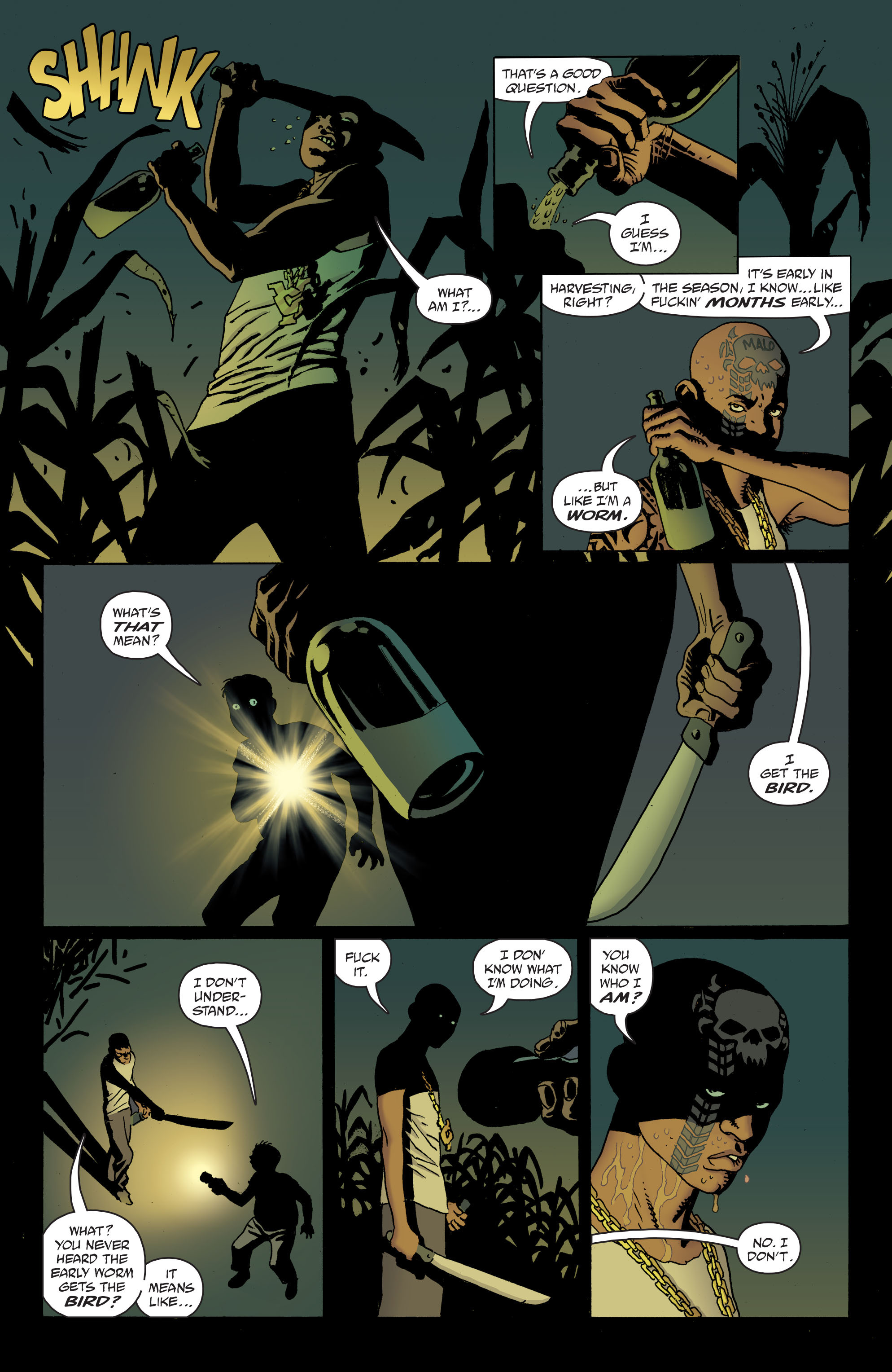 100 Bullets: Brother Lono Full Page 73