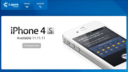 C-Spire Releases iPhone 4S With Unlimited Data
