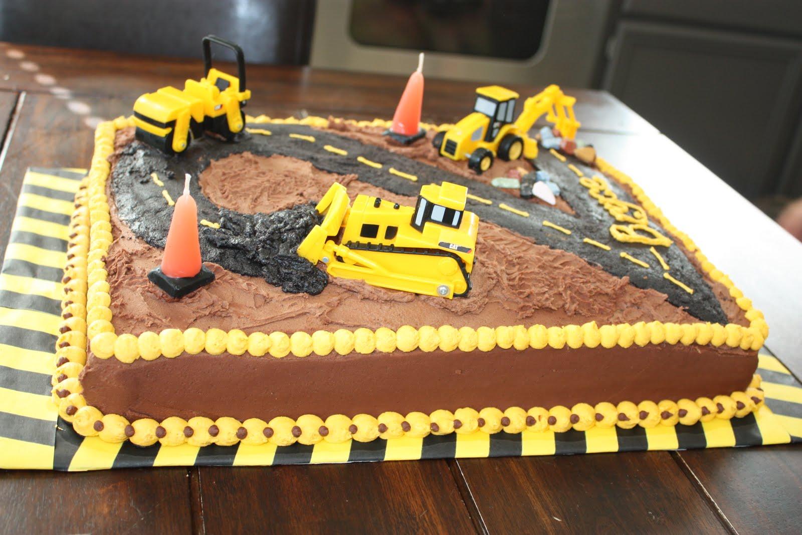 Under Construction Cake Ideas