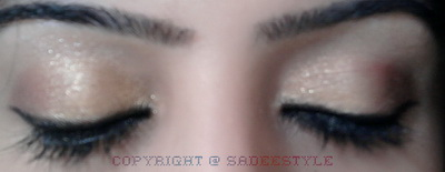 Eid ul Fitar 2012 Pakistan shopping makeup look