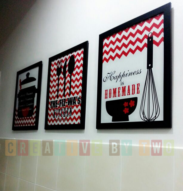 Beau Kitchen Wall Art. Red U0026 Black Again! Thanks For Sharing The Photos.