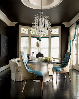 Nettraditional Dining Room Chandeliers : seating dining room kitchen table pedestal modern traditional ...