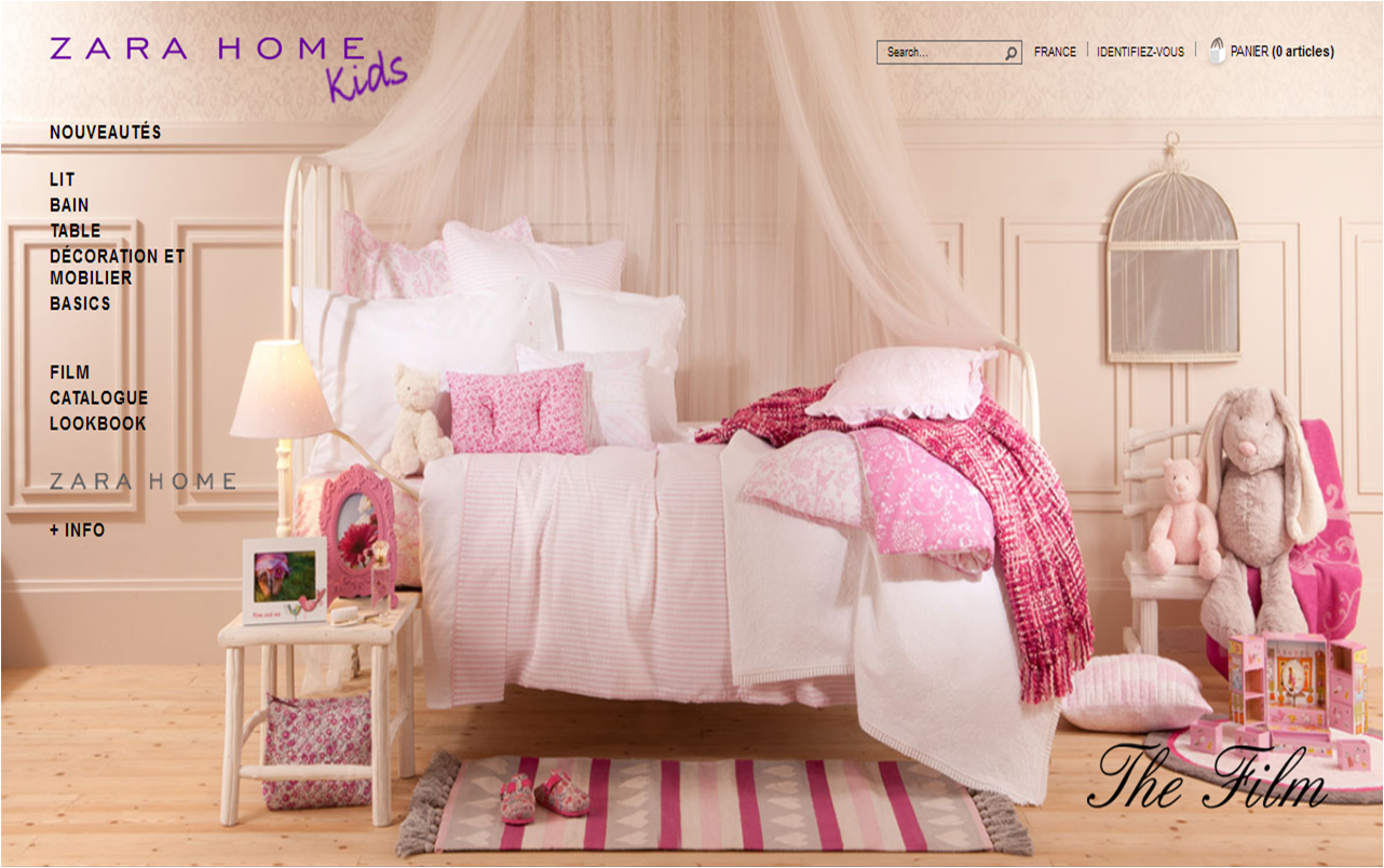 Baby fashion and room decoration bedroom by zara home kids - Zara home decoration ...