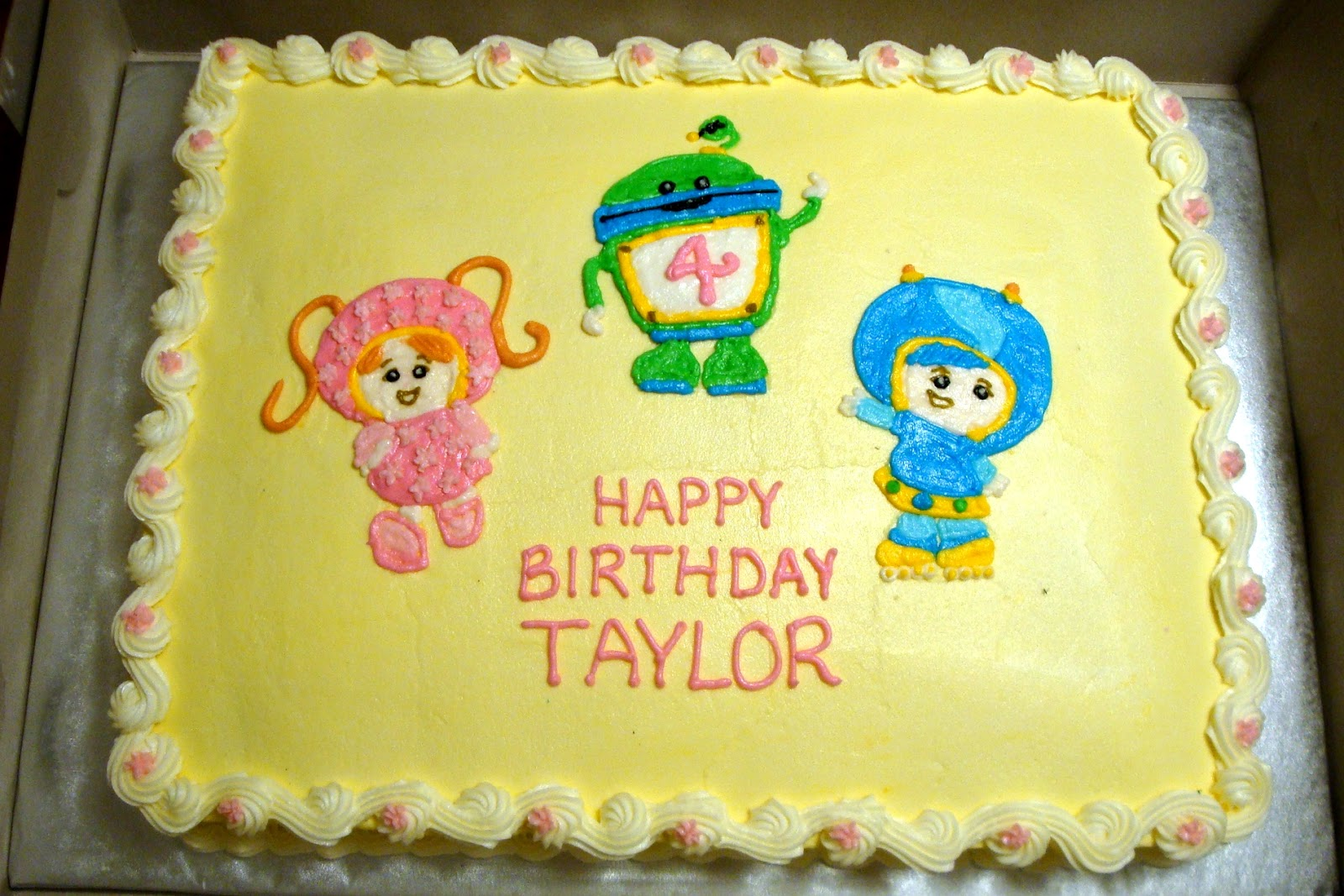 Team Umizoomi Birthday Cake Decorations