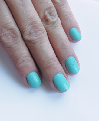 China Glaze For Audrey with matte topcoat