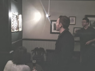 Playing Darts at the White Horse and Bower pub in London